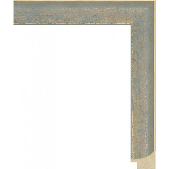RS066.0.126 Деревянный багет синий в интернет-магазине ROSESTAR фото