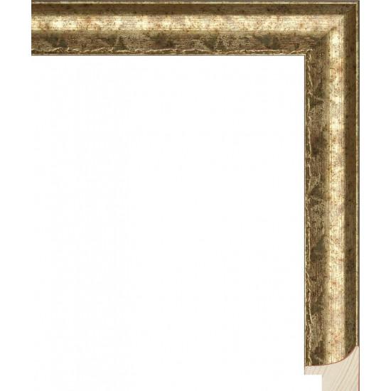 RS066.0.237 Деревянный багет золотой в интернет-магазине ROSESTAR фото