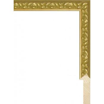 RS071.1.162 Деревянный багет золотой