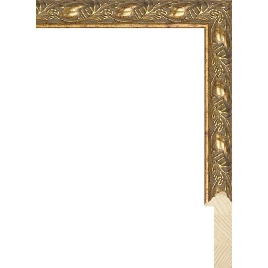 RS071.2.171 Деревянный багет золотой в интернет-магазине ROSESTAR фото