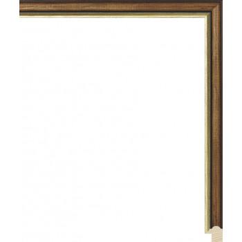 RS073.0.154 Деревянный багет коричневый