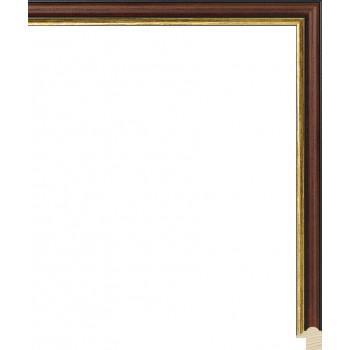 RS073.0.155 Деревянный багет коричневый