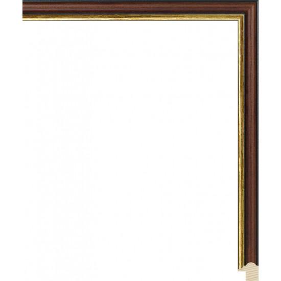 RS073.0.155 Деревянный багет коричневый в интернет-магазине ROSESTAR фото