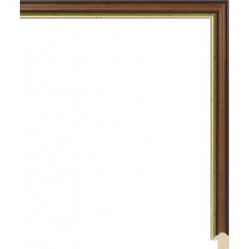 RS073.0.156 Деревянный багет коричневый
