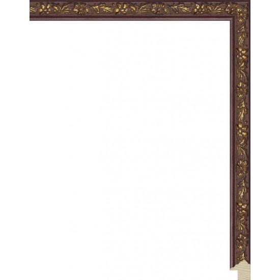 RS073.1.061 Деревянный багет коричневый в интернет-магазине ROSESTAR фото