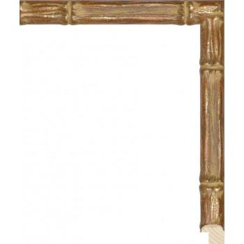 RS075.1.217 Деревянный багет золотой
