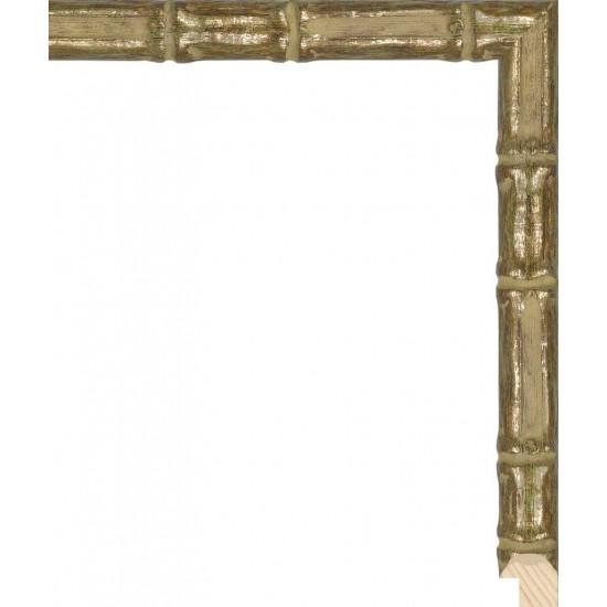 RS075.1.218 Деревянный багет золотой в интернет-магазине ROSESTAR фото