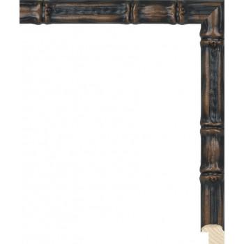 RS075.1.220 Деревянный багет коричневый