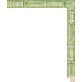 RS075.1.222 Деревянный багет зелёный