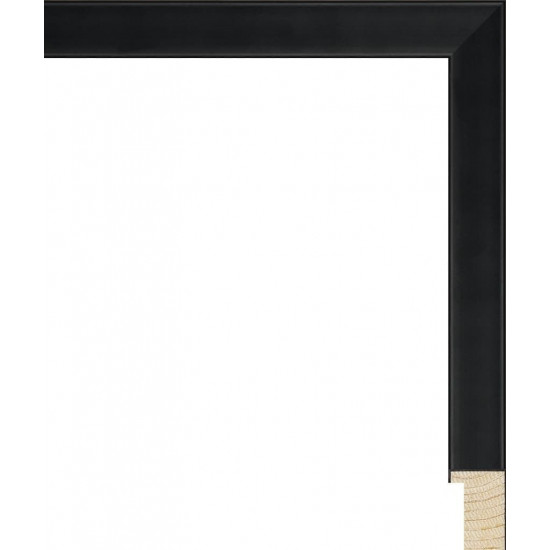 RS079.0.177 Деревянный багет чёрный в интернет-магазине ROSESTAR фото