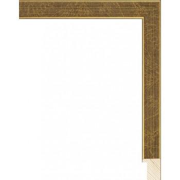 RS079.0.297 Деревянный багет золотой