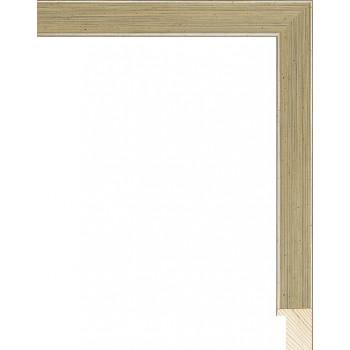 RS079.0.298 Деревянный багет серебряный