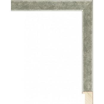 RS079.0.308 Деревянный багет серебряный