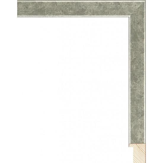 RS079.0.308 Деревянный багет серебряный в интернет-магазине ROSESTAR фото