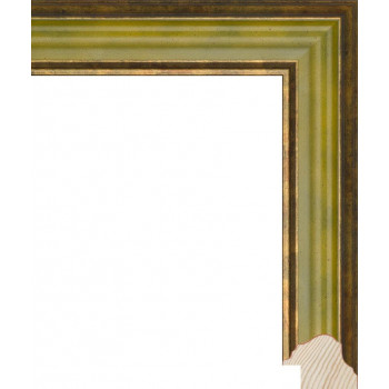 RS082.0.203 Деревянный багет зелёный