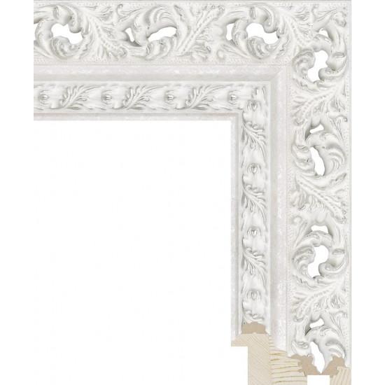 RS086.1.206 Деревянный багет белый в интернет-магазине ROSESTAR фото