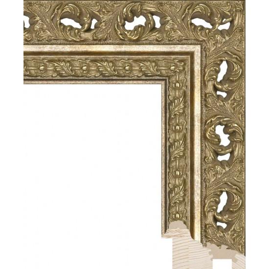 RS086.1.210 Деревянный багет золотой в интернет-магазине ROSESTAR фото