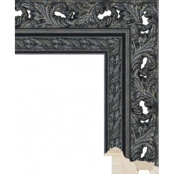 RS086.1.215 Деревянный багет чёрный