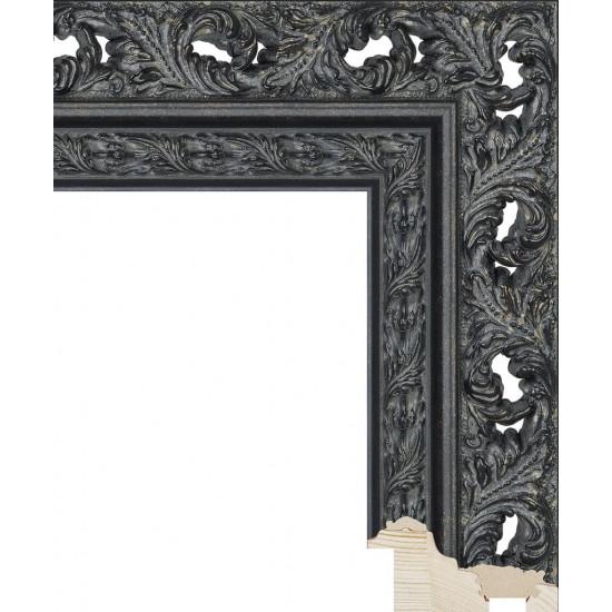 RS086.1.215 Деревянный багет чёрный в интернет-магазине ROSESTAR фото