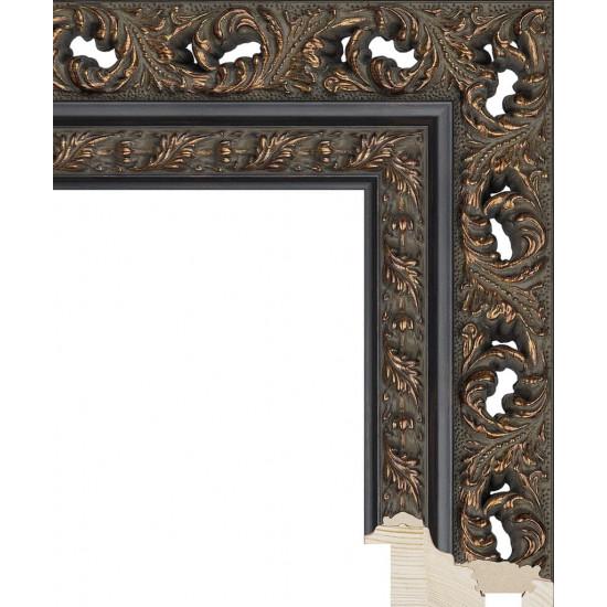 RS086.1.216 Деревянный багет коричневый в интернет-магазине ROSESTAR фото