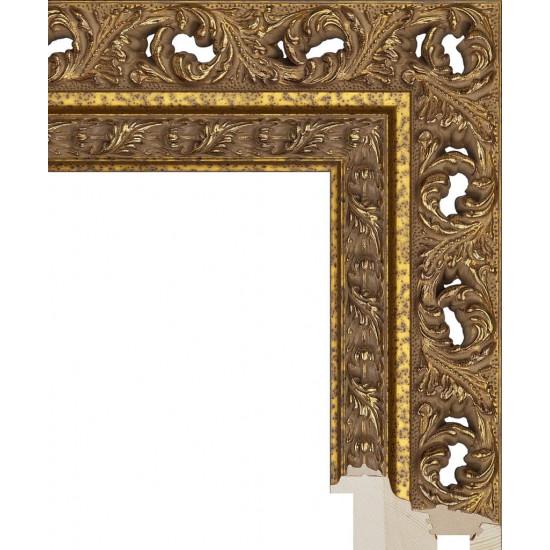 RS086.1.304 Деревянный багет золотой в интернет-магазине ROSESTAR фото