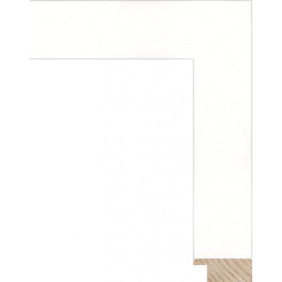RS092.0.074 Деревянный багет белый в интернет-магазине ROSESTAR фото