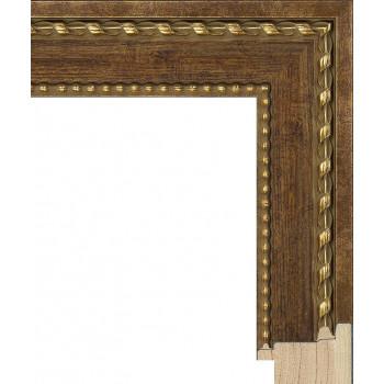 RS097.1.618 Деревянный багет золотой