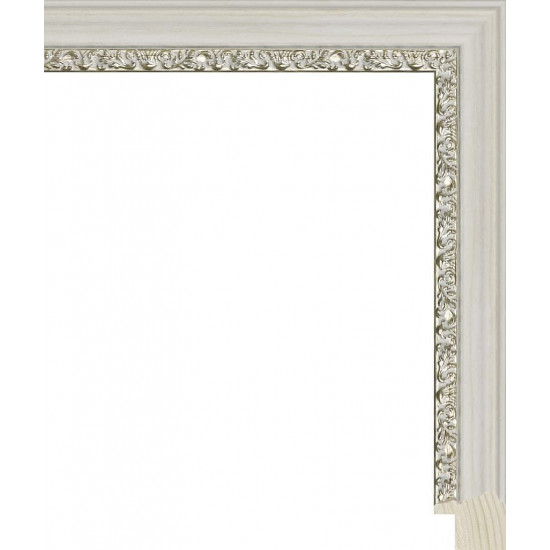 RS105.1.262 Деревянный багет белый в интернет-магазине ROSESTAR фото