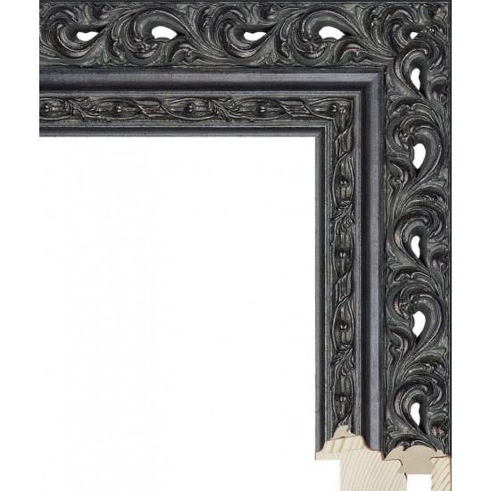 RS114.1.215 Деревянный багет чёрный в интернет-магазине ROSESTAR фото