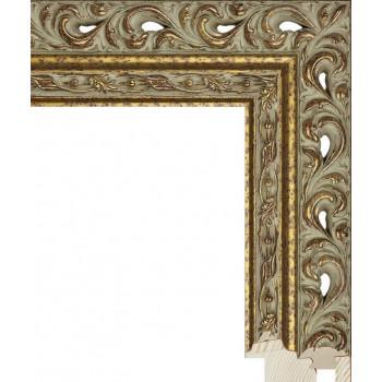 RS114.1.305 Деревянный багет бронзовый