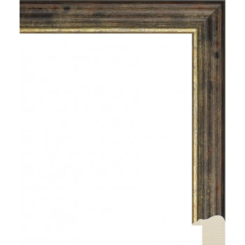 RS115.0.326 Деревянный багет коричневый