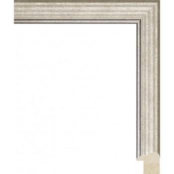 RS115.0.331 Деревянный багет серебряный