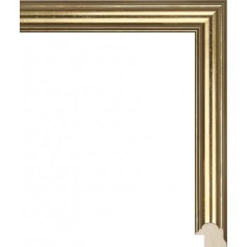 RS117.0.047 Деревянный багет золотой