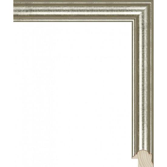 RS117.0.048 Деревянный багет серебряный в интернет-магазине ROSESTAR фото