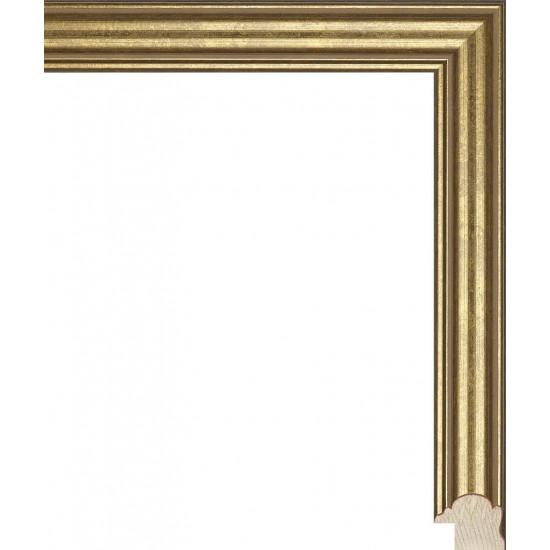 RS117.0.088 Деревянный багет золотой в интернет-магазине ROSESTAR фото