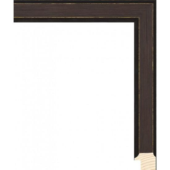 RS119.0.000 Деревянный багет коричневый в интернет-магазине ROSESTAR фото