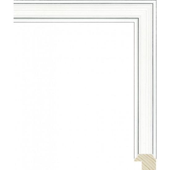 RS119.0.364 Деревянный багет белый в интернет-магазине ROSESTAR фото