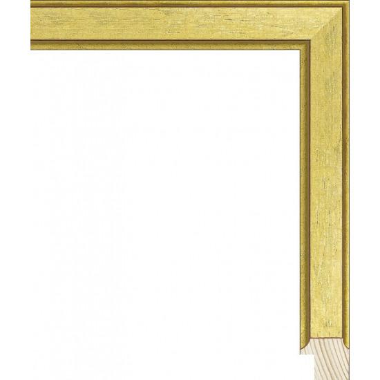 RS119.0.372 Деревянный багет золотой в интернет-магазине ROSESTAR фото
