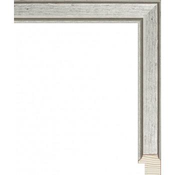 RS119.0.373 Деревянный багет серебряный