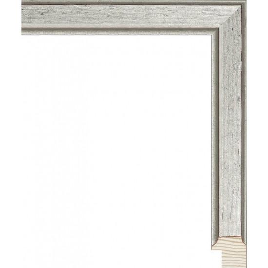 RS119.0.373 Деревянный багет серебряный в интернет-магазине ROSESTAR фото
