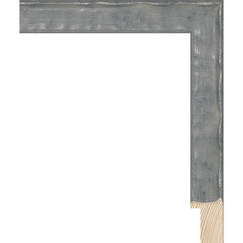 RS126.1.478 Деревянный багет серебряный