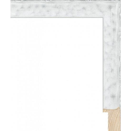 RS126.1.510 Деревянный багет белый в интернет-магазине ROSESTAR фото