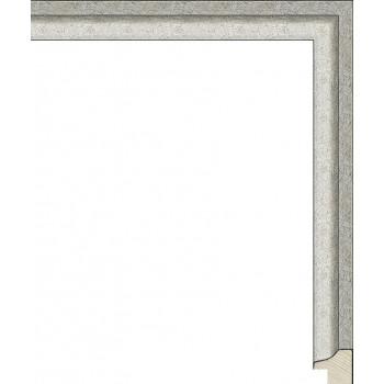 RS128.0.150 Деревянный багет серебряный