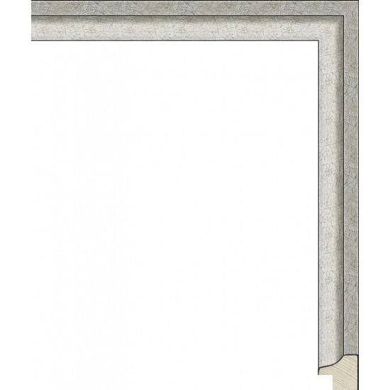 RS128.0.150 Деревянный багет серебряный в интернет-магазине ROSESTAR фото