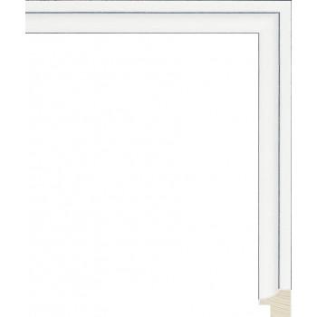 RS128.0.364 Деревянный багет белый