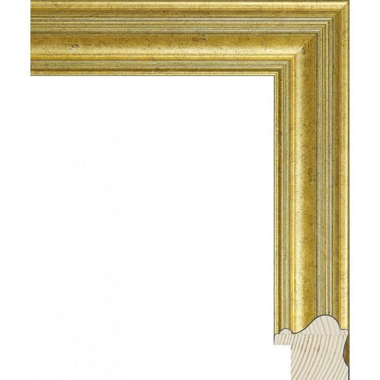 RS129.0.374 Деревянный багет золотой в интернет-магазине ROSESTAR фото