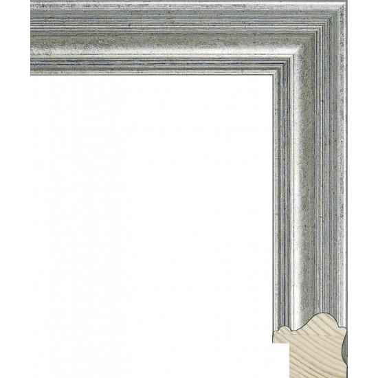 RS129.0.375 Деревянный багет серебряный в интернет-магазине ROSESTAR фото
