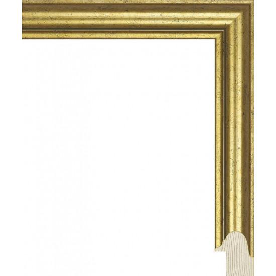 RS130.0.376 Деревянный багет золотой в интернет-магазине ROSESTAR фото