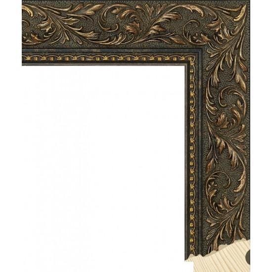 RS131.2.241 Деревянный багет золотой в интернет-магазине ROSESTAR фото