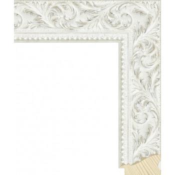 RS131.2.499 Деревянный багет белый